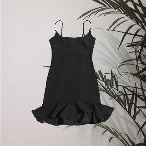 Hello Molly Black Dress
